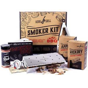 Herb & Grill 7 Piece Smoker Box