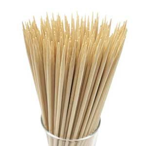 Natural Bamboo Skewers for Grilling