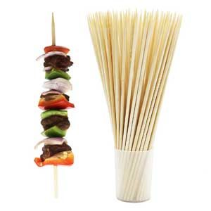 thick bamboo skewers