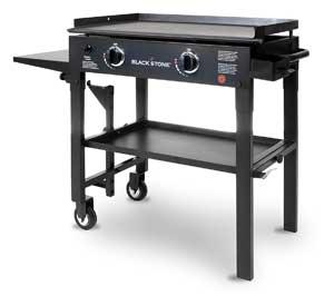 2 burner flat top grill