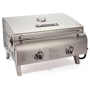 Cuisinart-CGG-306-Two-Burner-Professional-Tabletop-Gas-Grill