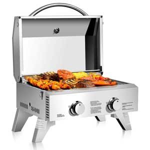 Giantex Tabletop Gas Boat Grill