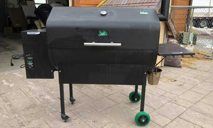 Glimpse of Green Mountain Grills