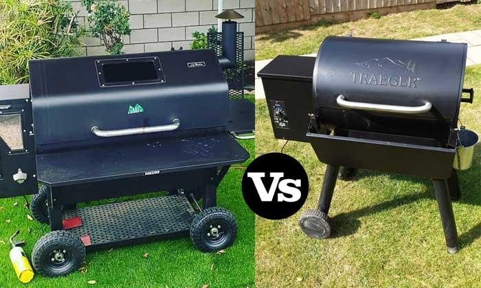 Green Mountain Pellet Grill vs Traeger