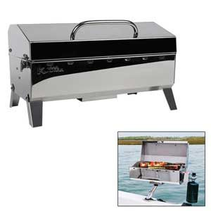 Mountable Boat Grill