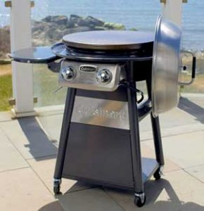 Outdoor Round Flat Top Grill