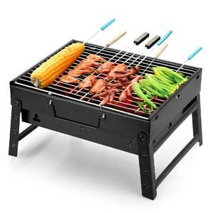 Portable Lightweight Small Charcoal Grill