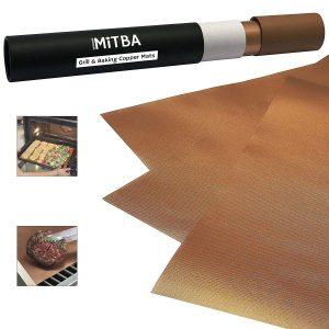 Reusable Copper Grill Mats