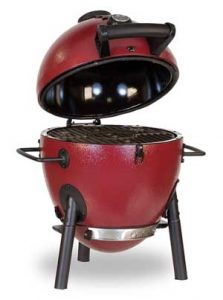 Char Griller Charcoal Grill With Cast Iron Grates
