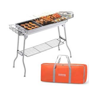 inexpensive charcoal grill