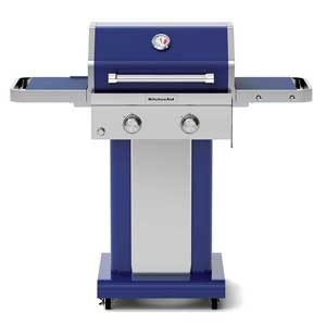 kitchenaid 2 burner gas grill