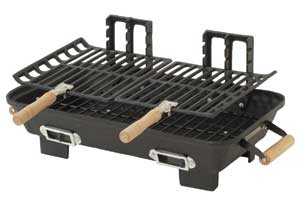 Marsh Allen Cast Iron Hibachi Charcoal Grill