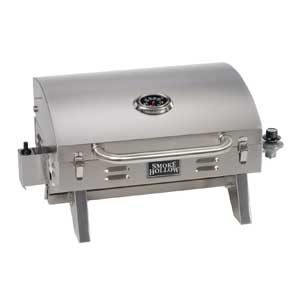 stainless steel tabletop gas grill