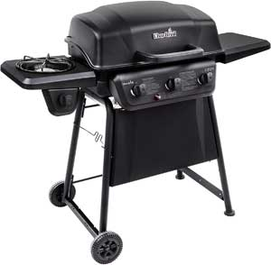 Char Broil Classic 360 3 Burner Gas Grill With Side Burner