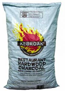Kebroak Hardwood Lump Charcoal Bag
