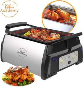 Kitchen Academy Tabletop Electric Grill