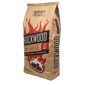 Rockwood All-Natural Hardwood Lump Charcoal