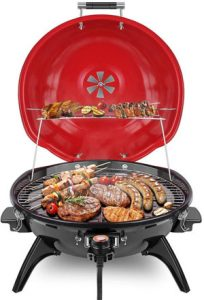 Techwood Indoor Tabletop Electric Grill