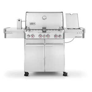 Weber Stainless Steel Gas Grill