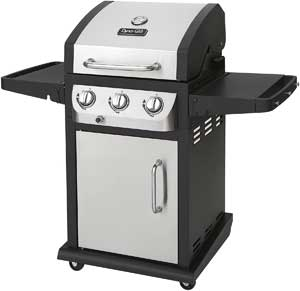 dyna glo 3 burner gas grill