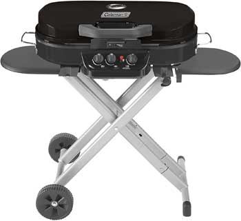 small coleman gas grill