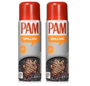 Best for all season grilling - Pam No-Stick Cooking Spray - Grill - For High Temperature